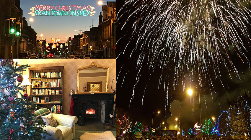 CHRISTMAS & HOGMANAY COMES TO GRANTOWN ON SPEY 2017